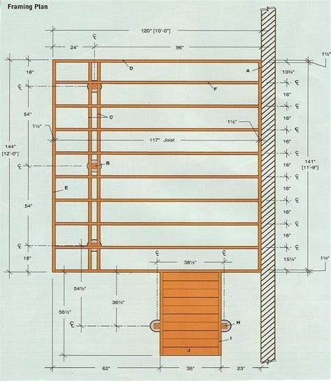 deck plan 4 shed garden shed plans free 12x12 12x24 learn how