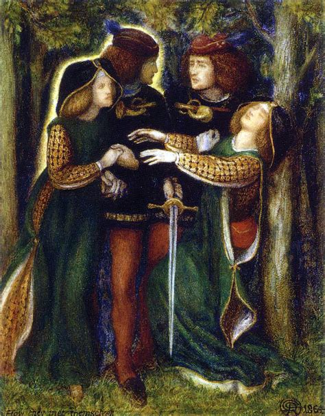 'how They Met Themselves' Preraphaelitism And The Double