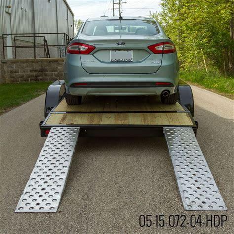 Ez Traction Hook End Aluminum Car Trailer Ramps