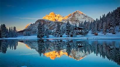 Lake Reflections Misurina Wallpapers 1366 1920 1280