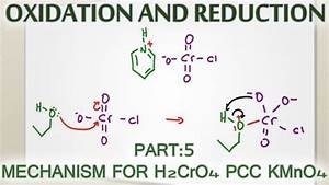 Alcohol Oxidation Mechanism With H2cro4  Pcc And Kmno4