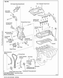 Toyota 1zz-fe  2zz-ge Engine Repair Manual  Rm733e