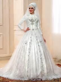 muslim bridesmaid dresses luxurious lace beading flower applique court muslim wedding dress 11598011 muslim