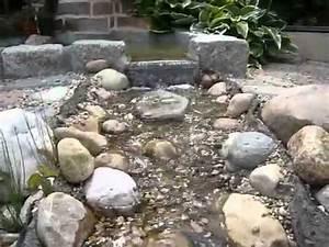 Bachlauf Im Garten : bachlauf im garten 1 youtube ~ Pilothousefishingboats.com Haus und Dekorationen