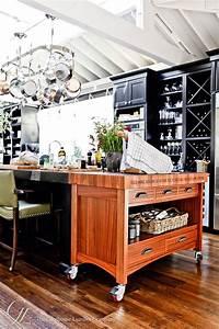 Custom Wood Butcher Block Island Countertops for Kitchens