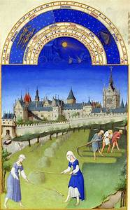 Limbourg, Brothers, Book, Of, Hours, June