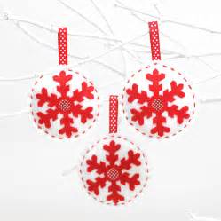 make and sew christmas decorations kit by kitty kay make sew notonthehighstreet com
