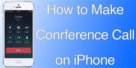 how to make conference call on iphone how to make conference call on iphone 7 6 6s se 5s 5 5c How T