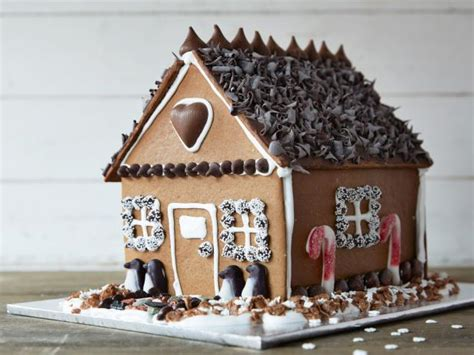 chocolate gingerbread house food network