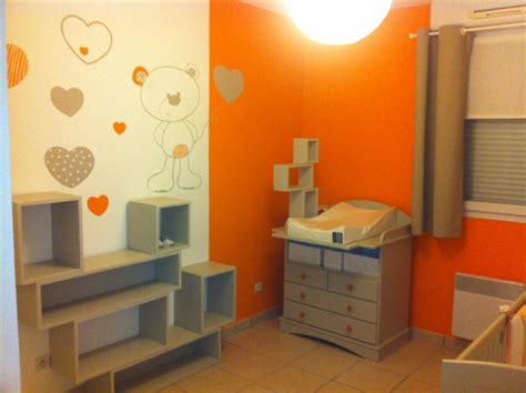 chambre orange et marron beige brun et orange chambre d 39 enfant recherche