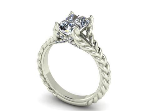 wedding rings rope design rope design engagement ring dallas shapiro diamonds