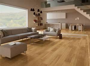 revetement de sol invitez le bois dans votre interieur With revetement de sol pvc imitation parquet
