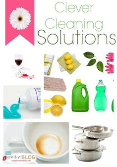 simple cleaning solutions home cleaning tips and tricks on pinterest home storage solutions stains and declutter