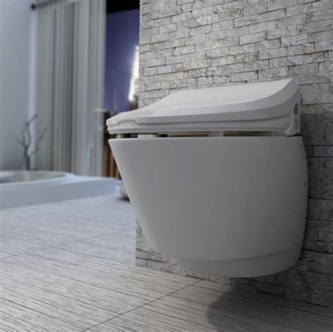 nic6000 electronic bidet seat and wall hung toilet combination