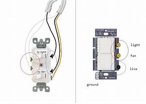 Light Switch Wire Diagram For Dual Switch