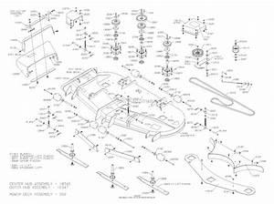 Dixon Silver Tip 72  2006  Parts Diagram For Mower Deck