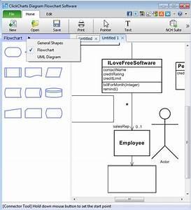 Free Flowchart And Uml Diagram Creator  Click Chart