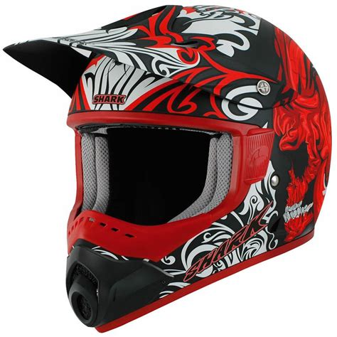 motocross crash helmets shark sx1 skully mat mx enduro dirt bike off road moto x