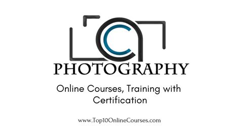 photography  courses training