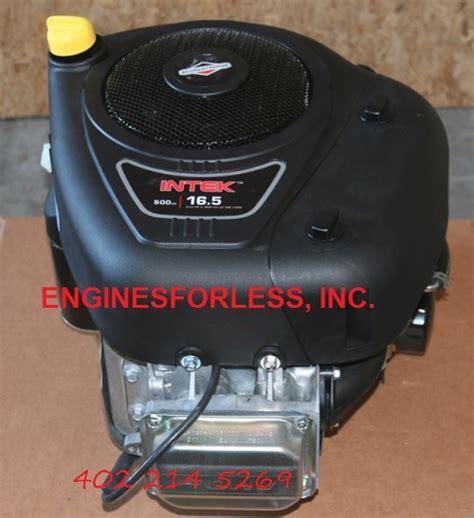 BRIGGS and & STRATTON 31R877-0020 vertical crankshaft engine