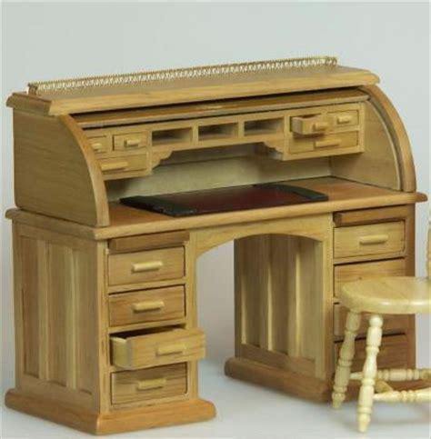 bureau secretaire dolls house miniature oak secretaire bureau xy750oak only