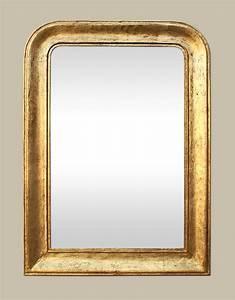 Miroir Doré Rectangulaire : miroir louis philippe dor patin ~ Teatrodelosmanantiales.com Idées de Décoration