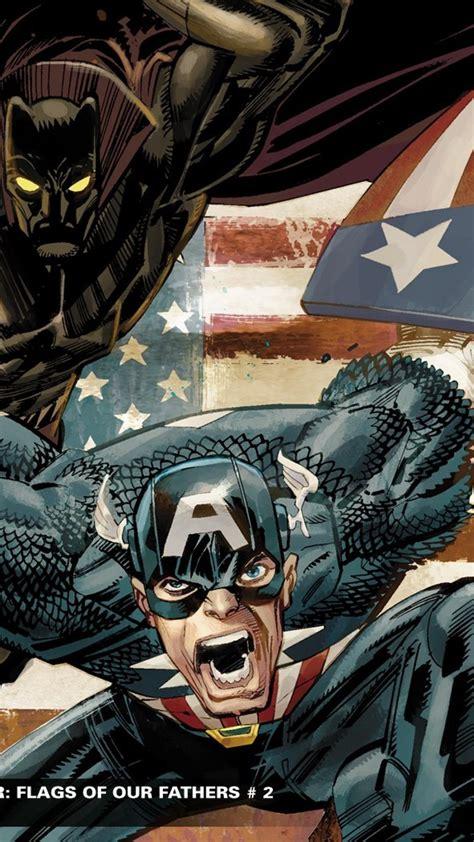 captain america black panther comics marvel wallpaper