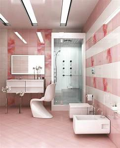 Bad Fliesen Verschönern : moderne badezimmer fliesen rosa ~ Michelbontemps.com Haus und Dekorationen