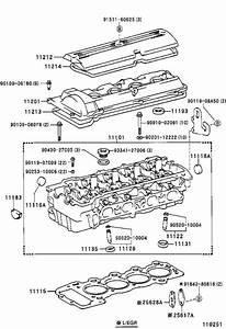 Toyota Previa Head Sub