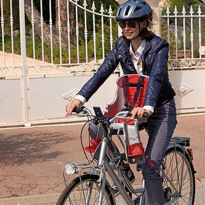 siège bébé vélo avant ok baby porte bébé avant pour vélo