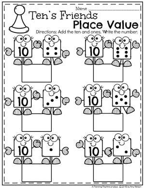 place value worksheets math worksheets for kids place
