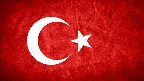 photo turkey grunge flag aged red middle east