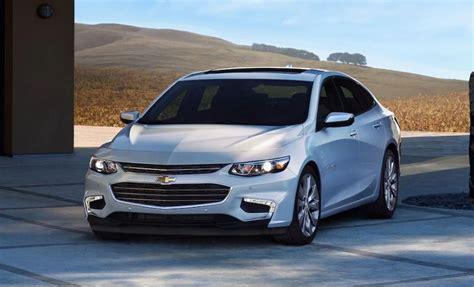 chevrolet malibu  review price release date