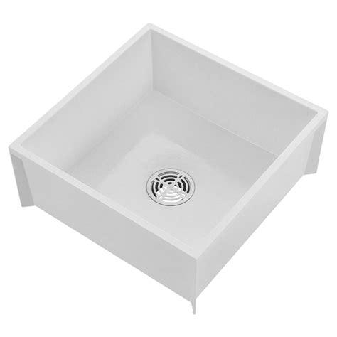msbid2424 24 quot x 24 quot molded stone mop basin mop sink