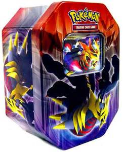 pokemon platinum legendary collection 2009 collector tin set giratina with giratina lv x card