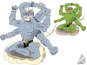 Pokemon Mega Evolution Contest Machamp