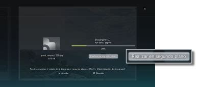 descarga ps3 en segundo plano no funcionan