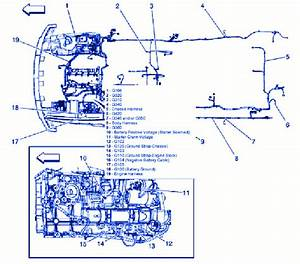 Hummer Hx 2014 Engine Compartment Electrical Circuit