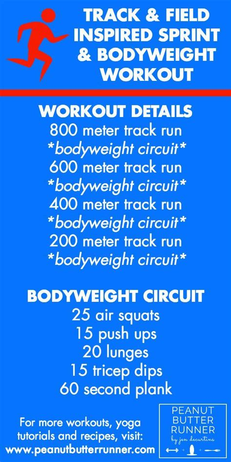 Best Workout Tracks Youth Track Workout Schedule Eoua