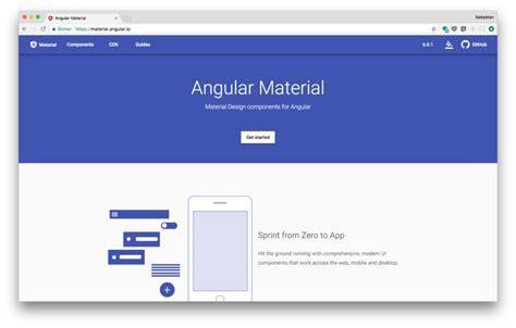 angular material angular material design angular