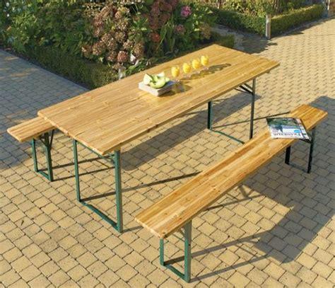 table de jardin en bois meubles jardin brico 20 photos