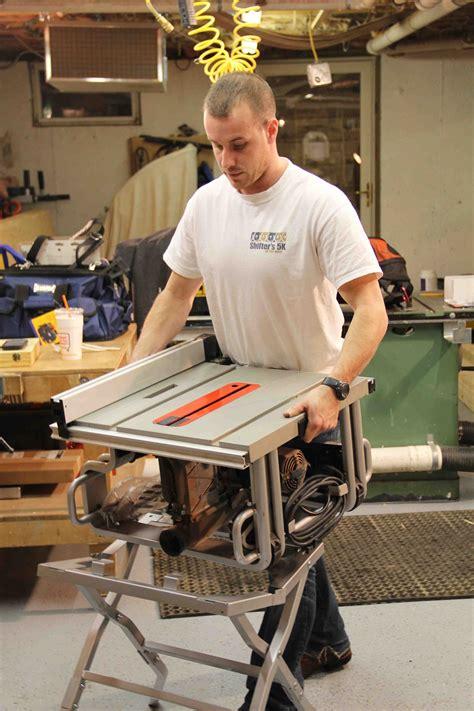 bosch vs dewalt table saw bosch vs dewalt portable jobsite table saw stand
