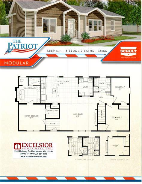schult homes patriot washington modular excelsior homes west