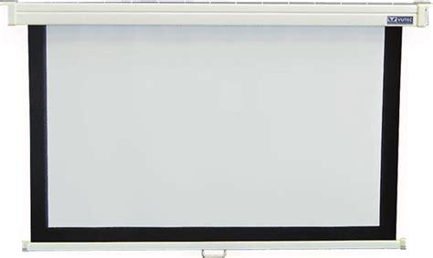 roll projector screen vutec 110 inch 4 3 manual pull projection screen ev 389