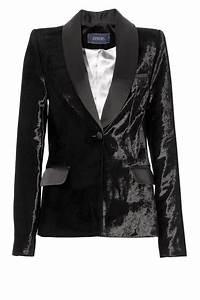 Blazer Femme Noir : blazer femme velours noir ~ Preciouscoupons.com Idées de Décoration