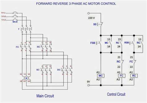 forward 3 phase ac motor control star delta wiring diagram electricos in 2019