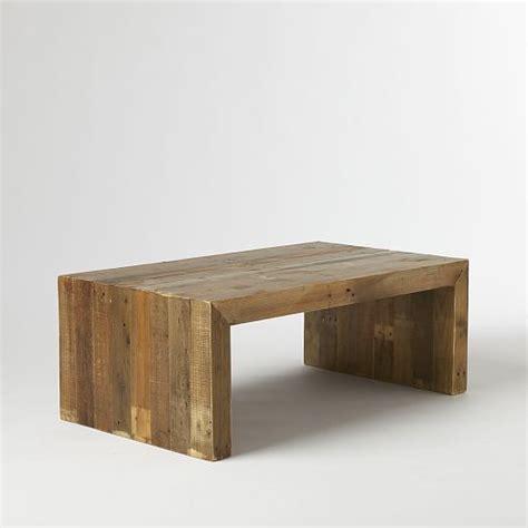 reclaimed elm coffee table emmerson 174 reclaimed wood coffee table west elm 4528