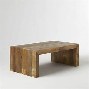 emmersonr reclaimed wood coffee table west elm With west elm emmerson reclaimed wood coffee table