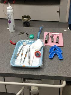 composite tray setup dental assistant da dental asst