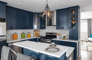 Kitchen Trend Navy Blue Cabinets Scott McGillivray